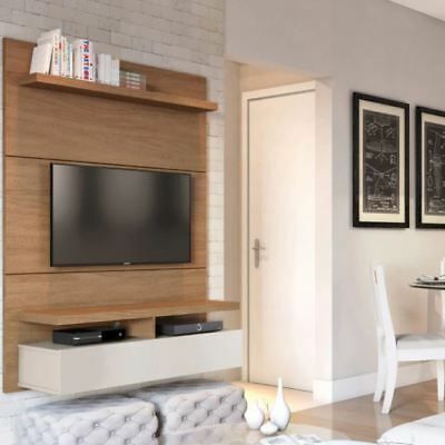 Floating Entertainment Center Wall Unit Tv Stand Flat Screen 42 Inch