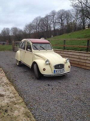 Citroen 2CV with Galvanised Chassis Electronic Ignition and good M O T