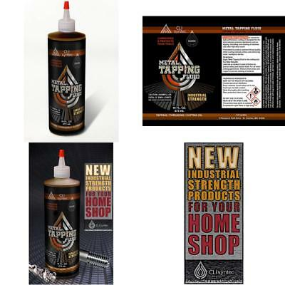 Premium Metal Tapping Fluid - 16 Fl. Oz. Threading And Cutting Oil