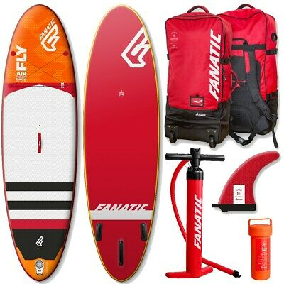 Fanatic Fly Air Premium gonflable SUP Planche à voile Stand Up Pagaie de surf