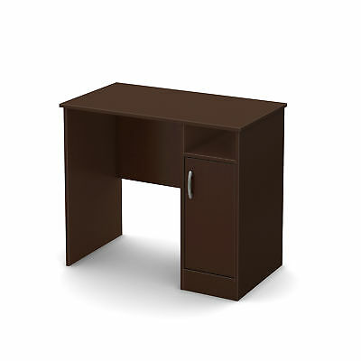 """South Shore Axess Small Desk Chocolate Brown 19.5""""L x 35.5""""W x 30.25""""H"""