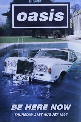 Oasis (UK) Be Here Now poster UK promo 30 X 20 BIG BROTHER 1997