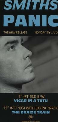 Smiths Panic UK poster promo POSTER ROUGH TRADE 1986