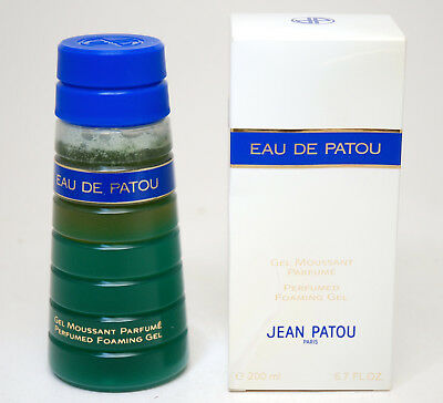 Eau De Patou Perfumed Foaming Gel 200 Ml