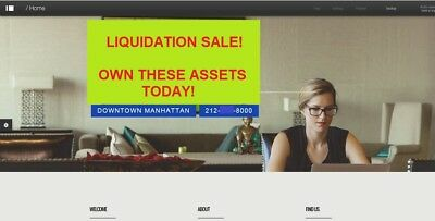 """Assets Sale and Two Matching Area Code 212 Phone Numbers Ending in """"000"""" & """"00!"""""""