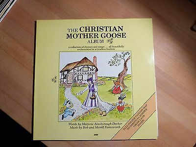 "12"" LP Foc Xian - Bob and Merrill Farnsworth - The Christian Mother Goose - WORD"