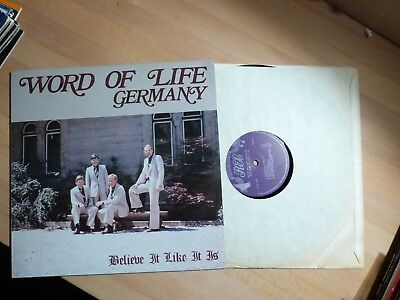"12"" LP - Word of Life Quartet - Believe it like it us - LP Nr. 315 - RAR xian"