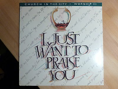 "12"" LP - xian - Church in the City Worship III  (13 Songs) Star Song OVP RAR"