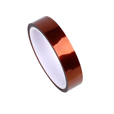 Useful Brown 20mm X 33m Heatproof Polyimide Adhesive Tape For Automobile Car