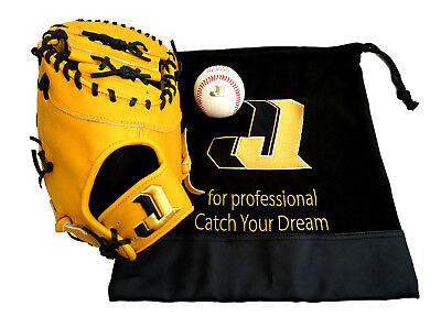 """Nepos USA JJ Professional Limited First Base Right-Hand Glove -13"""" Yellow"""