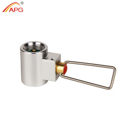 APG Conversion Adapter Camping Gas Stove Convertor Valve Canister Shifter Refill