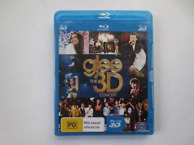Glee 3D The Concert Blu-Ray 3D