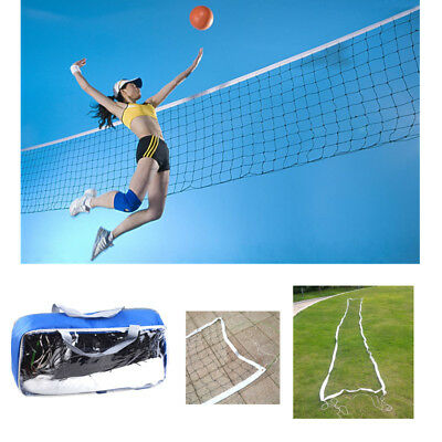 32'x3' Portable Outdoor Beach Volleyball Badminton Tennis Net with Carrying Bag