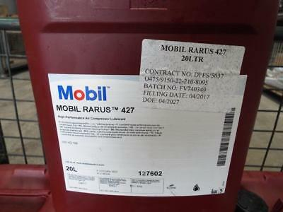 Mobil Rarus 427 Air Compressor Lubricant/oil  Brand New Factory Sealed