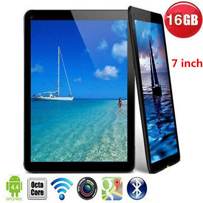 7 inch Android4.4 Core Google Tablet Kids PC 16GB HD Screen Camera Wifi