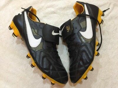53563dca2 NIKE TIEMPO PREMIER Fg Kangaroo Leather Vintage 94 Soccer Cleats US ...