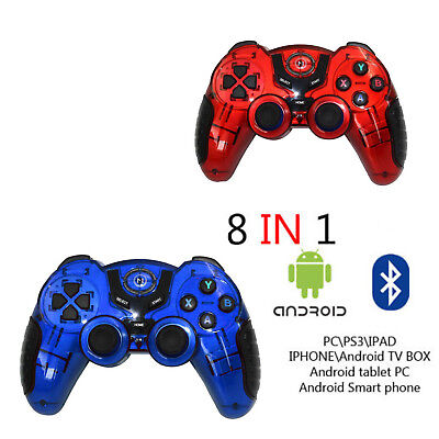 Controller Joystick Wireless Smartphone Android Game Pad Bluetooth Pc 8 In 1