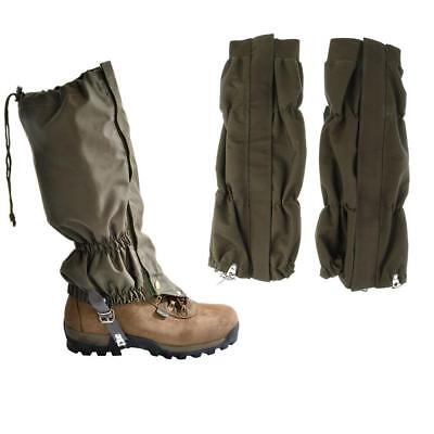 Waterproof Snow Legging Leg Gaiters Boots Shoe Cover Hunting Hiking Camping