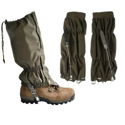 Outdoor Hiking Hunting Snow Snake Waterproof Boots High Leggings Leg Gaiters