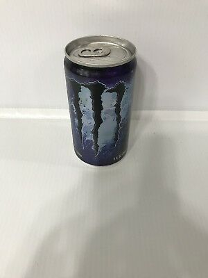 Monster Energy Drink Absolutely Zero 5oz EMPTY sealed Collectors Can