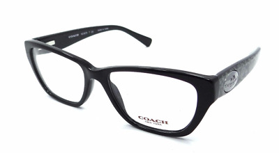 d6770b8a35875 AUTHENTIC COACH 6070 - 5346 Eyeglasses Black Whip Snake Frog  NEW  53mm -   79.95