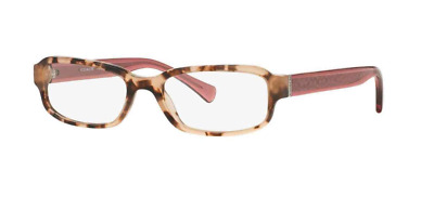 d41f8cf47b92 Authentic COACH 6083 - 5356 Eyeglasses Peach Tortoise Crystal Berry  NEW   52mm