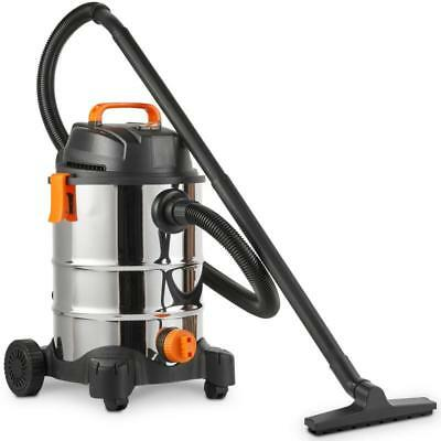3 In 1 Wet & Dry Vacuum Cleaner With Blowing Function Heavy Duty 30L Capacity