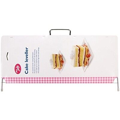 Tala 20cm Cake Leveller, White - Leveller Wire Cutting Layers Adjustable