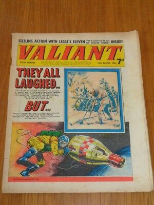 Valiant 12Th August 1967 Fleetway British Weekly Comic*