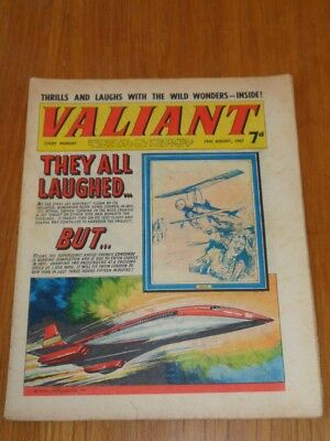 Valiant 19Th August 1967 Fleetway British Weekly Comic*