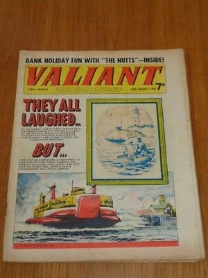 Valiant 26Th August 1967 Fleetway British Weekly Comic*