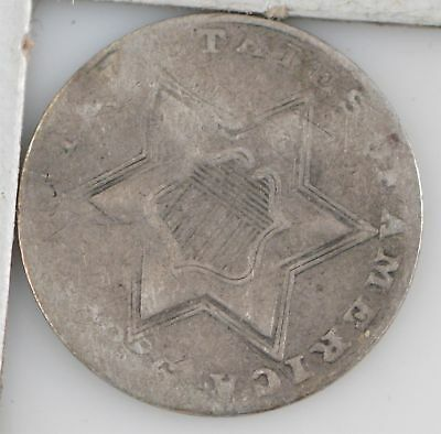 1856 Silver Three-Cent Piece *Z07