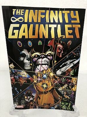 The Infinity Gauntlet Thanos Collects #1-6 Marvel TPB Trade Paperback Brand New