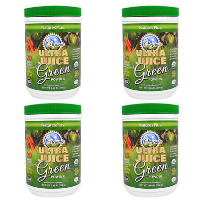 4X Nature's Plus Ultra Juice Green Powder Multinutrient Supplement Daily Care