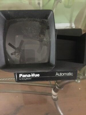 Vintage  View Master Pana-Vue Lighted 2x2 35 mm Slide Viewer 126 Cartridge