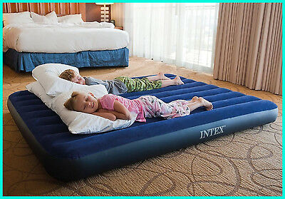 Intex Classic Downy Airbed, Queen.Air Bed For Camping