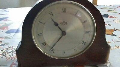 garrard 8 day lever mantel clock for spares and repairs