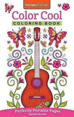 Color Cool Coloring Book Mcardle Thaneeya