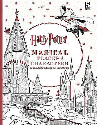 Harry Potter Magical Places and Characters Colouring Book, Warner Bros.,