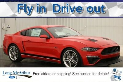 """Ford Mustang ROUSH STAGE 2 RS2 GT 700 HP STAGE 3 SUPERCHARGED V8  MSRP $64960 20"""" QUICKSILVER WHEELS AND TIRES ROUSH BADGING HIGH FLOW UPPER GRILLE"""