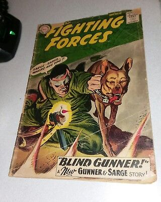 1959 Dc Our Fighting Forces #49 1St Appearance The Pooch Golden Age War Comics