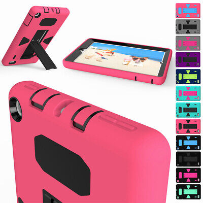 Slim Shockproof Stand Tablet Soft Case For Amazon Kindle Fire HD 8 2017 7th Gen