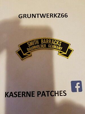 Lee Barracks Mainz Germany 4 Rocker Tab Embroidered Patch 5 00