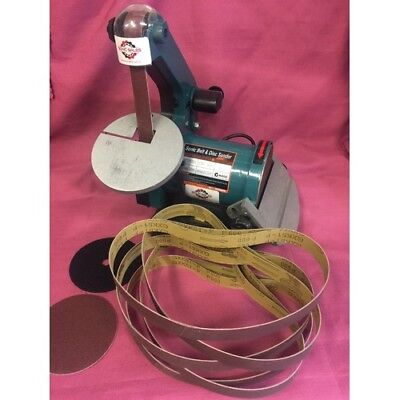 Sonic Belt/Disc Sander Package Deal Includes 10 Extra Belts