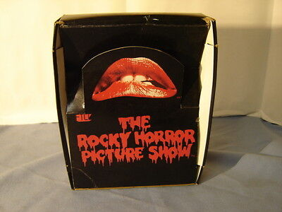 Vintage 1980 Rare The Rocky Horror Picture Show Trading Cards Empty Display Box