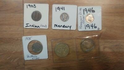 1903 T0 1969 Great Set Of Coins