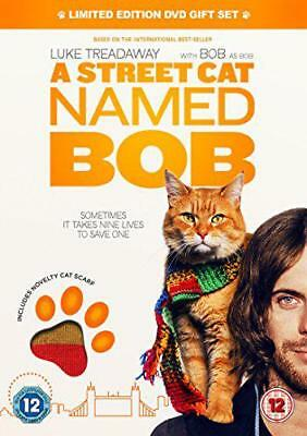 A Street Cat Named Bob (Cat Scarf Limited Edition) [DVD] [2016], DVD, New, FREE