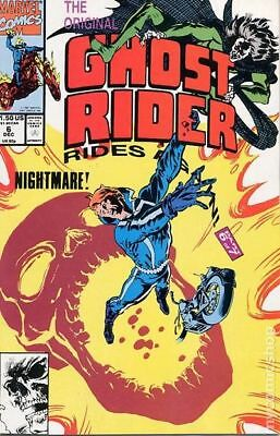 Original Ghost Rider Rides Again #6 1991 FN Stock Image