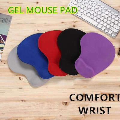 Comfort Wrist Soft Gel Rest Support Mat Mouse Mice Pad Gaming PC Laptop Computer