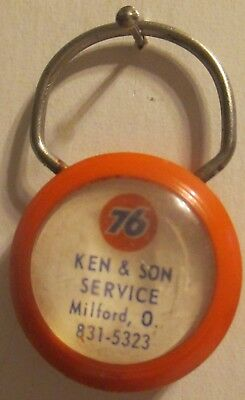 Ken & Son Union 76 Service Station Milford Ohio Promo Key Fob Key Chain